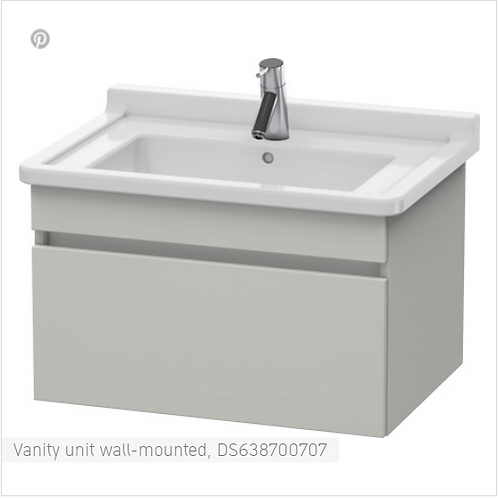 Duravit DuraStyle Vanity unit wall-mounted  800 X 470