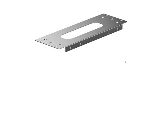 Hansgrohe sBox Installation plate for tile mounted installation