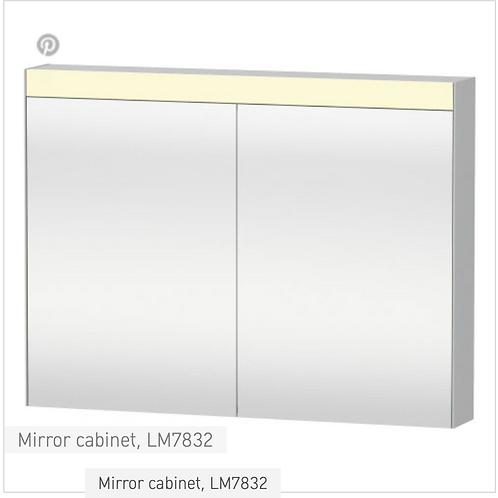 Duravit Universal Light And Mirror Mirror Cabinet 1010mm x 148mm