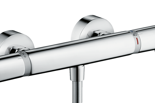 Hansgrohe Ecostat Thermostatic shower mixer Comfort Care for exposed installatio