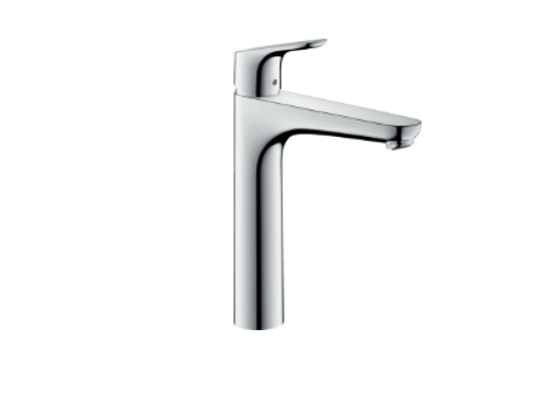 Hansgrohe Focus Single lever basin mixer 190 with 2 flow rates with pop-up waste