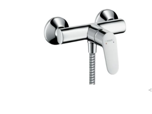 Hansgrohe Focus Single lever manual shower mixer for exposed installation