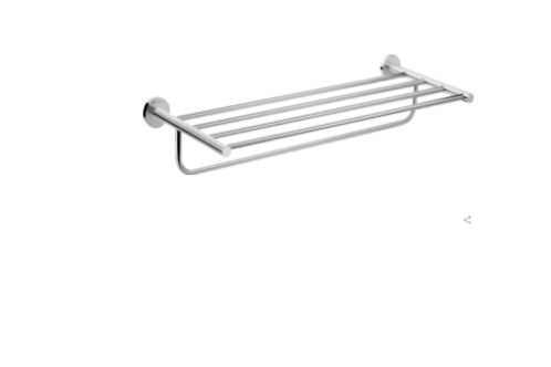 Hansgrohe Logis Universal Towel rack with towel holder