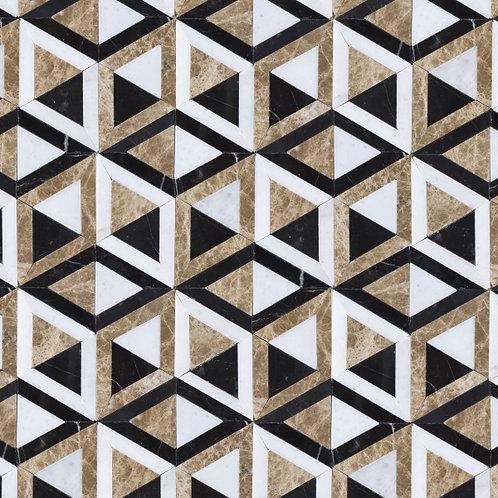 London Marble Mosaic 31.5 x 45cm Price Per Sqm