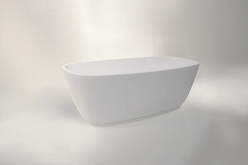 BC Designs Divita Cian Solid Surface Bath 1495 x 720mm