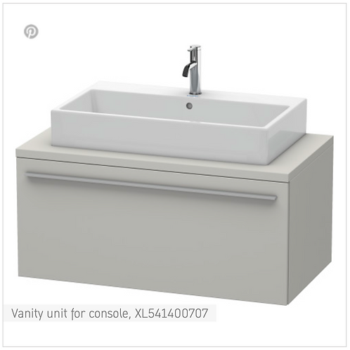 X-Large Vanity Unit For Console 1000mm x 548mm