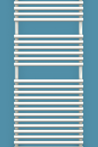 Bisque Straight Fronted 1196mm x 496mm Towel Rail