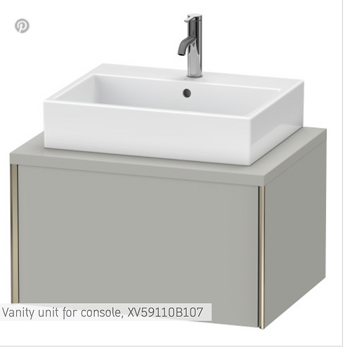 XViu Vanity unit for console 700mm x 548mm