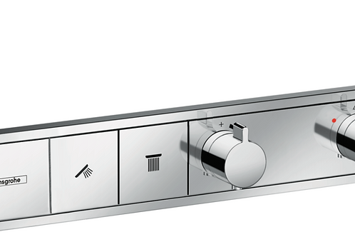 Hansgrohe RainSelect Thermostat for concealed installation for 2 functions