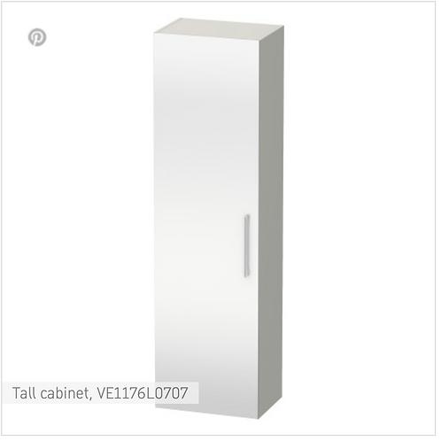 Vero Tall cabinet 500 x 350 mm