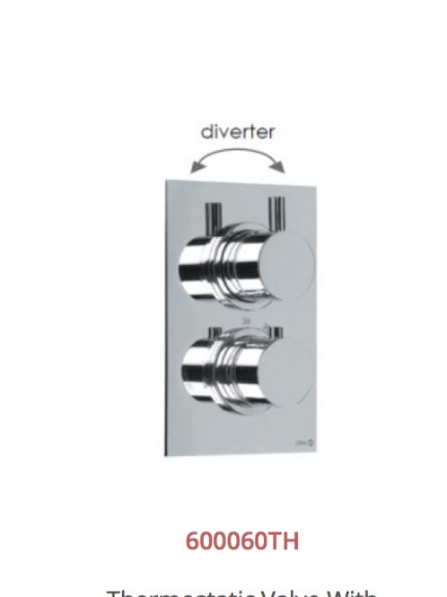 Cifial Technovation 465 Thermostatic Valve With Diverter