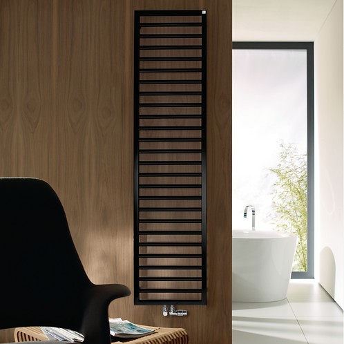 Zehnder Matt Black Subway Radiator