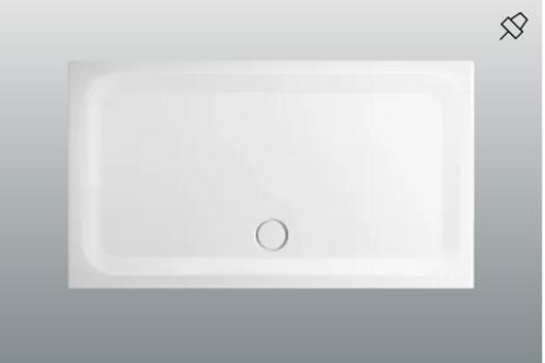 Bette Ultra 1500 - 1800mm Shower Trays, Depth 3.5cm