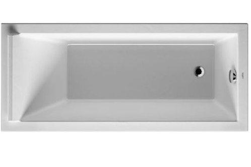 Duravit Starck Bathtub 1600x700 with support feet