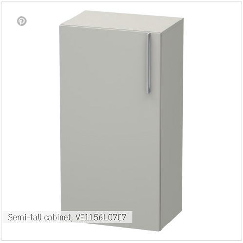 Vero Semi-tall cabinet 500 x 360 mm