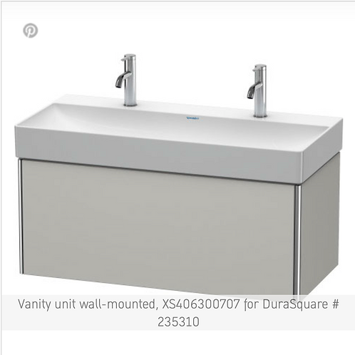 XSquare Vanity unit wall-mounted 984 x 460 mm
