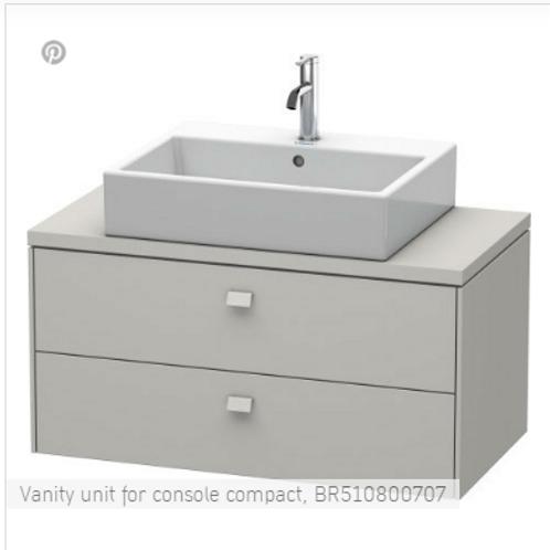 Duravit Brioso Vanity Unit Floor Standing 920mm x 480mm