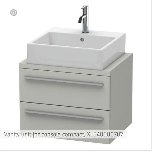 Duravit X-Large Vanity Unit For Console  600m x 478mm
