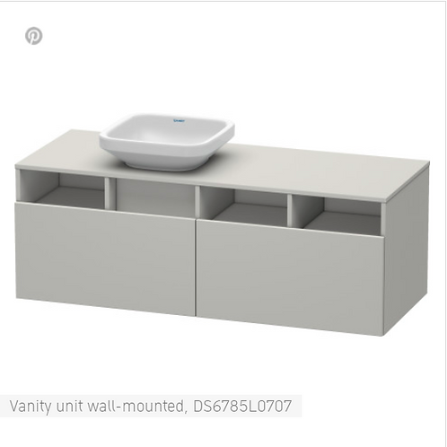 Duravit DuraStyle Vanity unit wall-mounted  1400 X 550