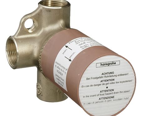 Hansgrohe Basic set for Trio shut-off / diverter valve for concealed installatio
