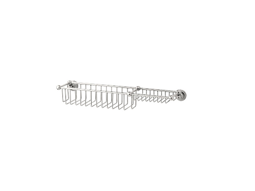 Perrin & Rowe Traditional 510mm Bottle Basket and Soap Tray