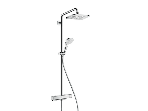 Hansgrohe Croma E Showerpipe 280 1jet with thermostat
