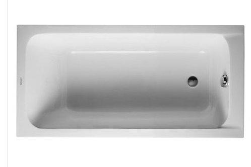 Duravit D-Code Bathtub 1500x750 with support feet