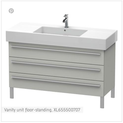 X-Large Vanity unit floor-standing 1200 x 470 mm