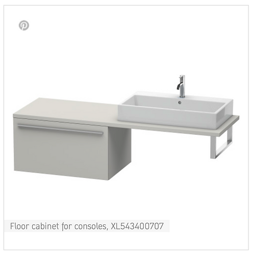 X-Large Floor cabinet for consoles 800mm x 548mm