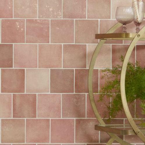 Bazaar Ceramic Rose Mallow 13.2 x 13.2cm Price Per Sqm