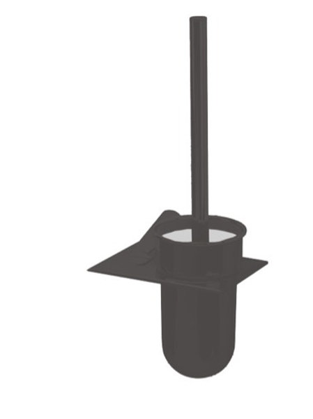 Cifial Black Wall Mounted Toilet Brush Set