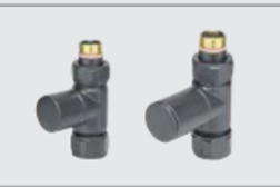 Zehnder Floor Piped Valve Set 26 (manual valve) - Duel Energy