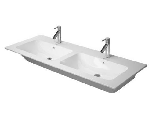 Duravit ME by Starck Double washbasin 1300mm, Double Furniture washbasin