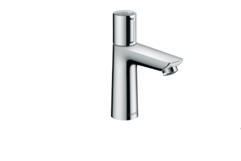 Hansgrohe Talis Select E Basin mixer 110 with pop-up waste
