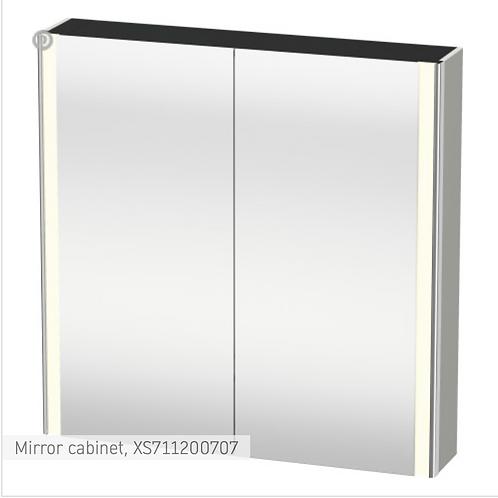 XSquare Mirror cabinet 800 x 156 mm