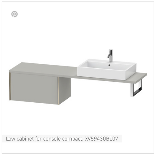 XViu Low cabinet for console compact 700mm x 478mm