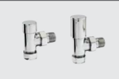 Zehnder Floor Piped Valve Set 1 (manual valve)