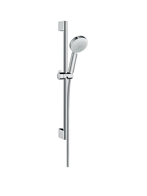 Hansgrohe Crometta 100 Shower set Vario with shower rail 65 cm
