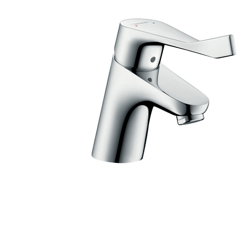 Hansgrohe Focus Single lever basin mixer 70 with extra long handle and pop-up wa