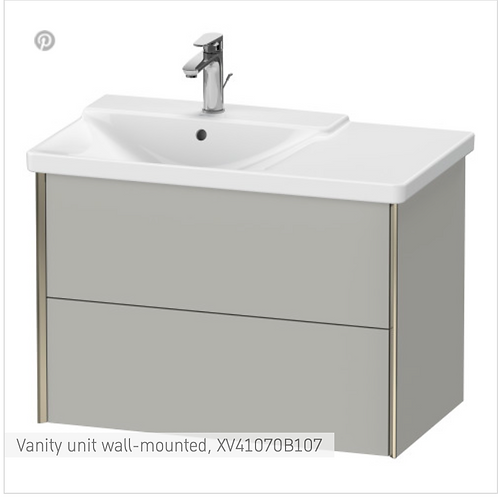 XViu Vanity unit wall-mounted 810 x 469 mm