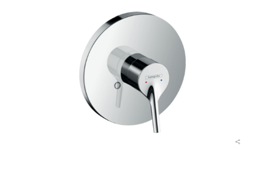Hansgrohe Talis S Single lever manual shower mixer for concealed installation