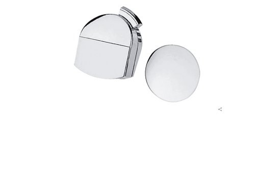 Hansgrohe Exafill Finish set bath filler, waste and overflow set