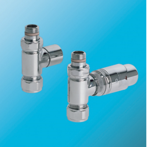 Bisque Valve Set J - Straight Thermostatic