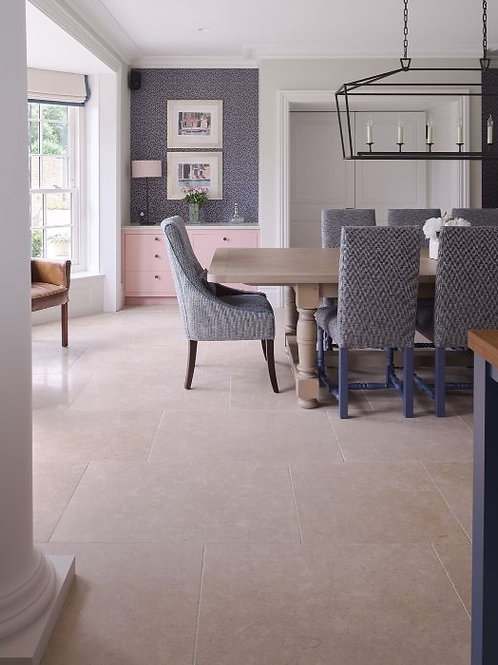 Hamlet Limestone Tumbled Finish French Pattern Price Per Sqm