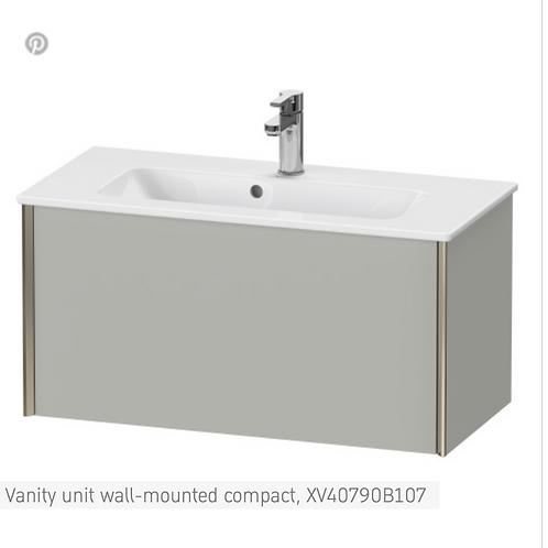 XViu Vanity unit wall-mounted compact 810 x 390 mm