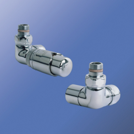 Bisque Valve Set L - Double Angled Thermostatic