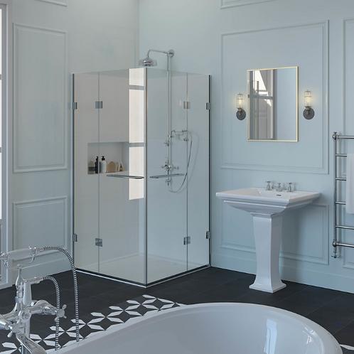 Shower Lab - View 28 - Door x2 And Inline Panel x2 Bespoke 2000mm