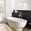 Thumbnail: BC Designs Casini Cian Solid Surface Bath 1555 x 740mm
