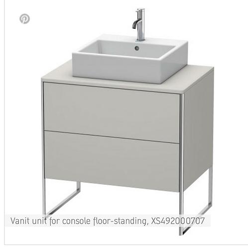 XSquare Vanit unit for console floor-standing 800 x 548 mm