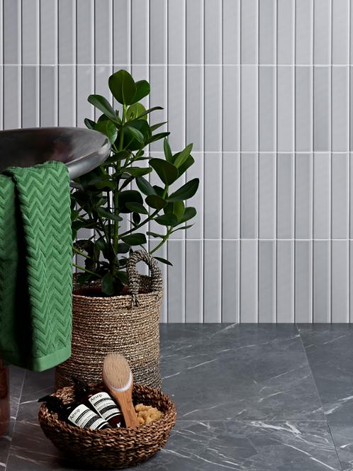 Dolly Ceramic Pale Grey 5 x 25cm Price Per Sqm